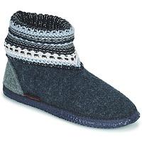 Pantofi Femei Papuci de casă Giesswein KIEL Albastru