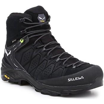 Pantofi Bărbați Drumetie și trekking Salewa MS Alp Trainer 2 Mid GTX 61382-0971 black