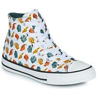 Pantofi Copii Pantofi sport stil gheata Converse CHUCK TAYLOR ALL STAR DINO DAZE HI Alb / Verde / Portocaliu