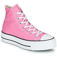 Pantofi Femei Pantofi sport stil gheata Converse CHUCK TAYLOR ALL STAR LIFT SEASONAL COLOR HI Roz