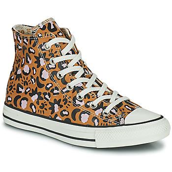 Pantofi Femei Pantofi sport stil gheata Converse CHUCK TAYLOR ALL STAR MYSTIC WORLD HI MuȘtar / Roz