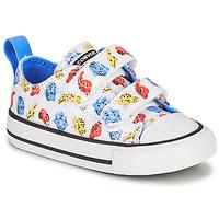 Pantofi Copii Pantofi sport Casual Converse CHUCK TAYLOR ALL STAR 2V DINO DAZE OX Alb / Verde / Portocaliu
