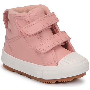 Pantofi Fete Pantofi sport stil gheata Converse CHUCK TAYLOR ALL STAR BERKSHIRE BOOT SEASONAL LEATHER HI Roz