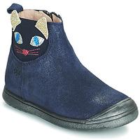 Pantofi Fete Ghete Acebo's 3159SU-MARINO Albastru