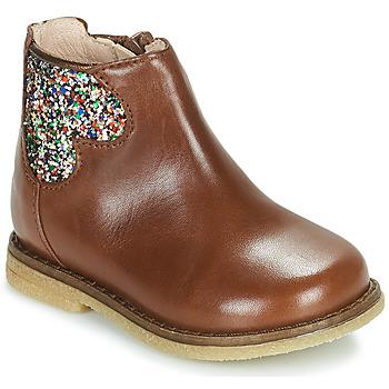 Pantofi Fete Ghete Acebo's 3202-CUERO-I Maro
