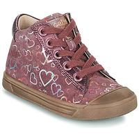 Pantofi Fete Pantofi sport stil gheata Acebo's 5533EL-GRANADA Roz
