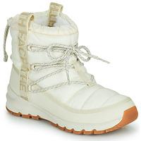 Pantofi Femei Cizme de zapadă The North Face W THERMOBALL LACE UP Ecru