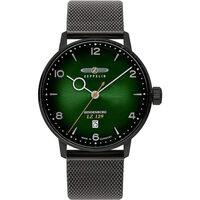 Ceasuri & Bijuterii Bărbați Ceasuri Analogice Zeppelin 8048M-5, Quartz, 40mm, 5ATM Negru