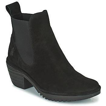 Pantofi Femei Botine Fly London WASP Negru