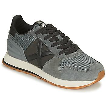 Pantofi Bărbați Pantofi sport Casual Munich MASSANA Gri / Negru