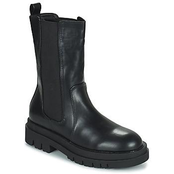 Pantofi Femei Ghete Moony Mood PAULA Negru