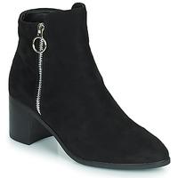 Pantofi Femei Cizme casual Moony Mood PETROLIA Negru