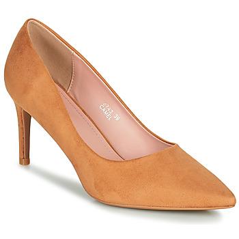 Pantofi Femei Pantofi cu toc Moony Mood PEROLINE Camel