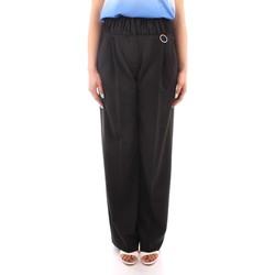 Îmbracaminte Femei Pantaloni fluizi și Pantaloni harem Marella PANTS BLACK