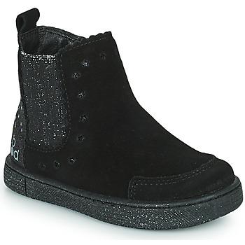 Pantofi Fete Ghete Mod'8 BLANOU Negru / Glitter