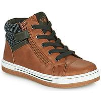 Pantofi Băieți Pantofi sport stil gheata Mod'8 KYNATA Coniac
