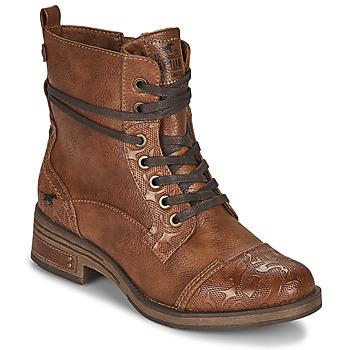 Pantofi Femei Ghete Mustang 1293501 Maro