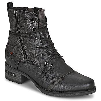 Pantofi Femei Ghete Mustang 1229508 Negru