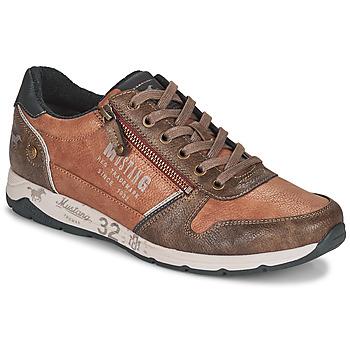Pantofi Bărbați Pantofi sport Casual Mustang BRICA Maro
