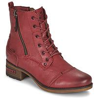 Pantofi Femei Ghete Mustang 1229513 Roșu