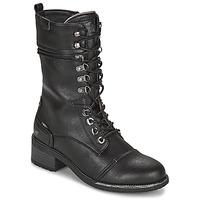 Pantofi Femei Cizme casual Mustang 1402501 Negru