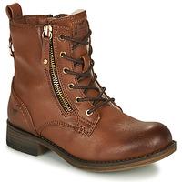 Pantofi Fete Ghete Mustang 5026-623-308 Maro