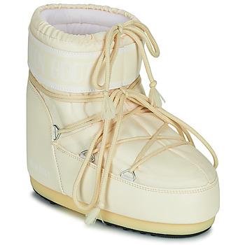 Pantofi Femei Cizme de zapadă Moon Boot MOON BOOT ICON LOW 2 Crem