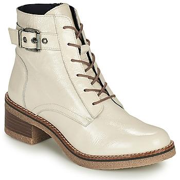 Pantofi Femei Botine Dorking LUCERO Ecru