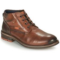 Pantofi Bărbați Ghete Fluchos TERRY Maro