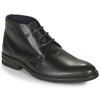 Pantofi Bărbați Ghete Fluchos OLIMPO Negru