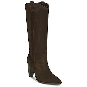 Pantofi Femei Cizme casual Ikks BR80185 Maro