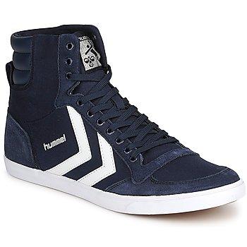 Pantofi Pantofi sport stil gheata Hummel TEN STAR HIGH CANVAS Bleumarin