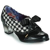 Pantofi Femei Pantofi cu toc Irregular Choice CORPORATE BEAUTY Negru / Alb