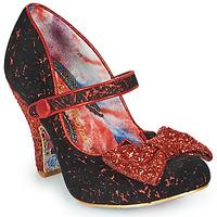 Pantofi Femei Pantofi cu toc Irregular Choice FANCY THAT Negru / Roșu