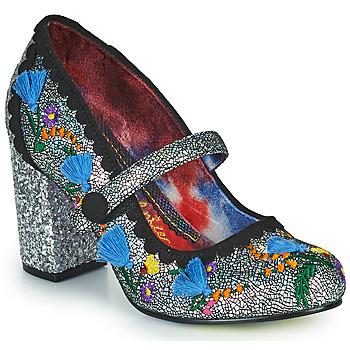 Pantofi Femei Pantofi cu toc Irregular Choice THISTLE DARLING Argintiu