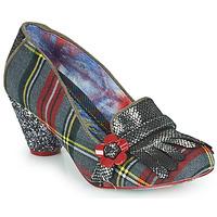 Pantofi Femei Pantofi cu toc Irregular Choice HIGHLAND HAVEN Gri / Roșu