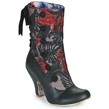 Pantofi Femei Botine Irregular Choice REINETTE Negru / Roșu