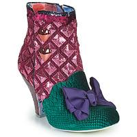 Pantofi Femei Botine Irregular Choice DAINTY DARLING Roz / Verde