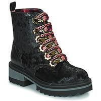 Pantofi Femei Ghete Irregular Choice MORNING STROLL Negru