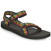 Pantofi Femei Sandale  Teva ORIGINAL UNIVERSAL Negru /  multicolor