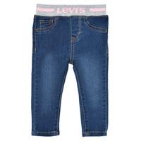Îmbracaminte Fete Jeans skinny Levi's PULL ON SKINNY JEAN Westthird / Pink