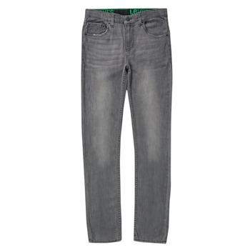 Îmbracaminte Băieți Jeans skinny Levi's 510 SKINNY FIT ECO PERFORMANCE JEANS Albastru