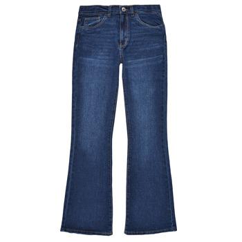 Îmbracaminte Fete Jeans bootcut Levi's HIGHRISECROPFLARE Albastru