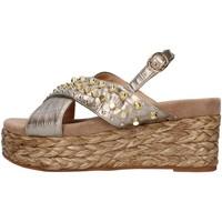Pantofi Femei Sandale  Alma Blue V21BL6506 BRONZE