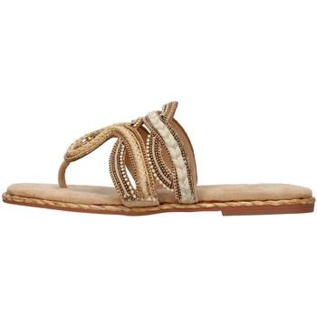 Pantofi Femei  Flip-Flops Alma Blue V21BL9005 BEIGE