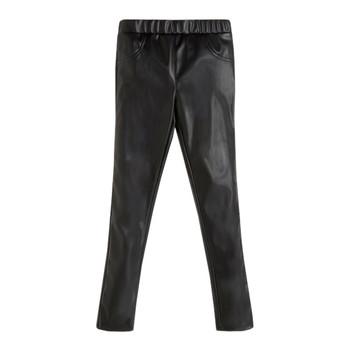 Îmbracaminte Fete Pantalon 5 buzunare Guess PATALOT Negru