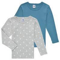 Îmbracaminte Băieți Tricouri cu mânecă lungă  Petit Bateau HOQUIN Multicolor