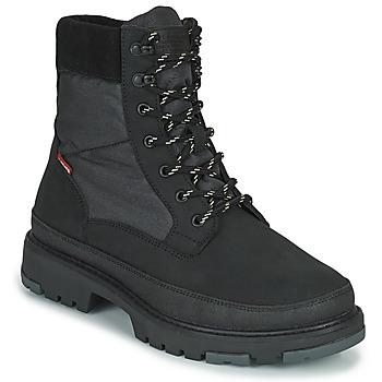 Pantofi Bărbați Ghete Levi's TORSTEN QUILTED Negru
