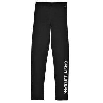 Îmbracaminte Fete Colanti Calvin Klein Jeans MERCA Negru