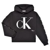 Îmbracaminte Fete Hanorace  Calvin Klein Jeans SALOMA Negru